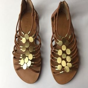 Jessica Simpson gladiator sandles